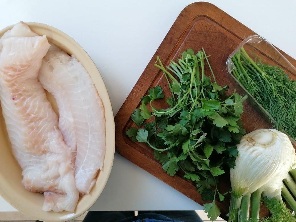 Légume-feuille - Graisse animale - cabillaud pané