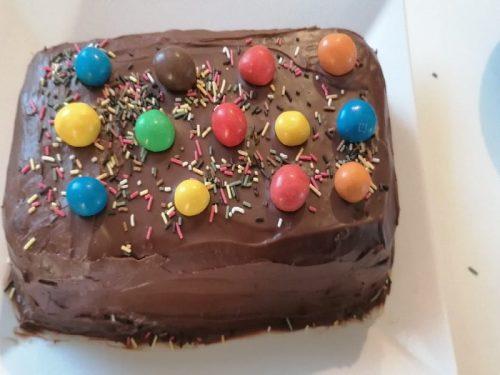 Brownie au chocolat - Gateau au chocolat - Gâteau anniversaire pour enfants