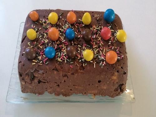 Brownie au chocolat - Truquer - Gâteau anniversaire enfants