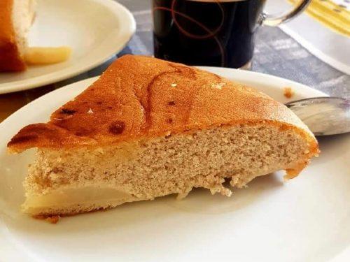 Tarte à la mélasse - Petit-déjeuner - moelleux poire