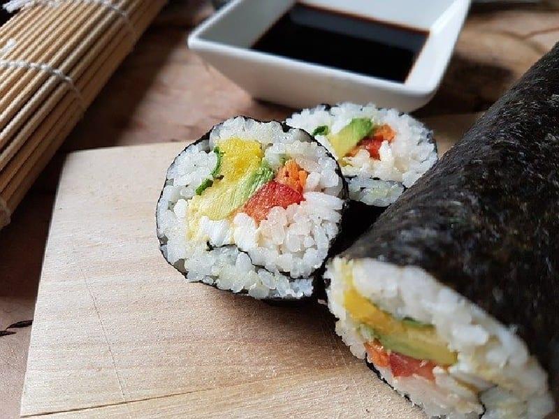 Sushi - Cuisine japonaise - séjour en corée du sud-
