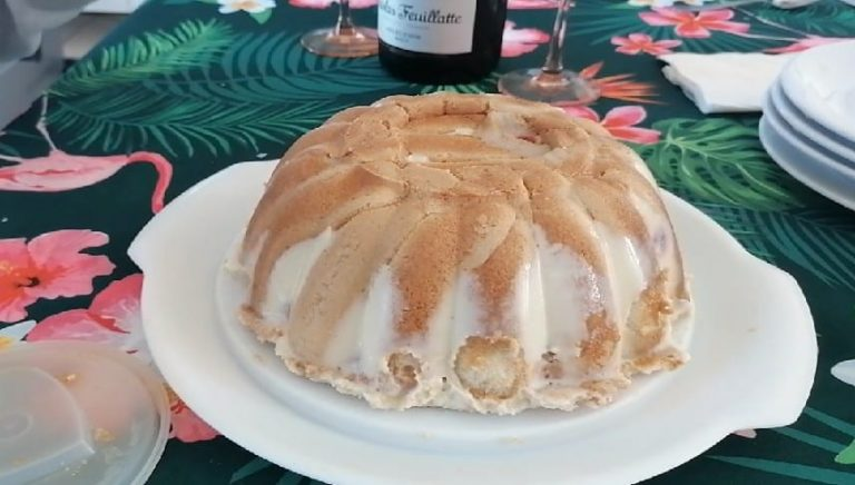 Zuccotto - Alaska cuit au four
