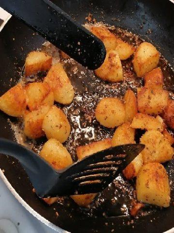 Friture - Cuisine - patates sautées