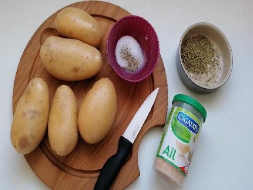 ingrédients pour faire les patates sautées