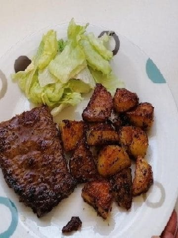 Bifteck - Friture