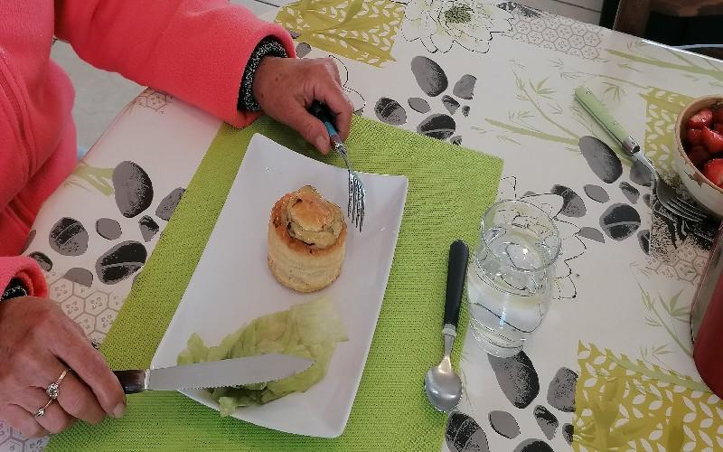 Pâtisserie - Douceur - bouchée à la reine