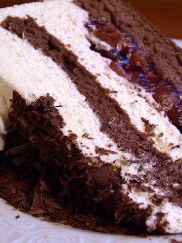 Black Forest gateau - German cuisine - forêt noire