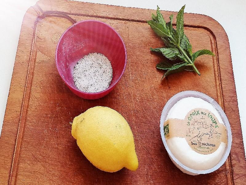 citron menthe velouté
