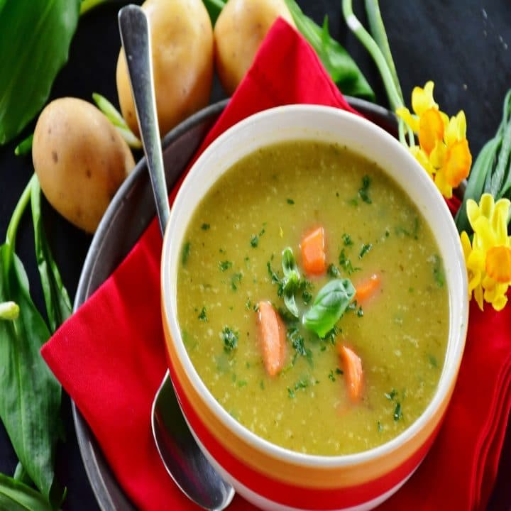 soupe au pois les bahamas