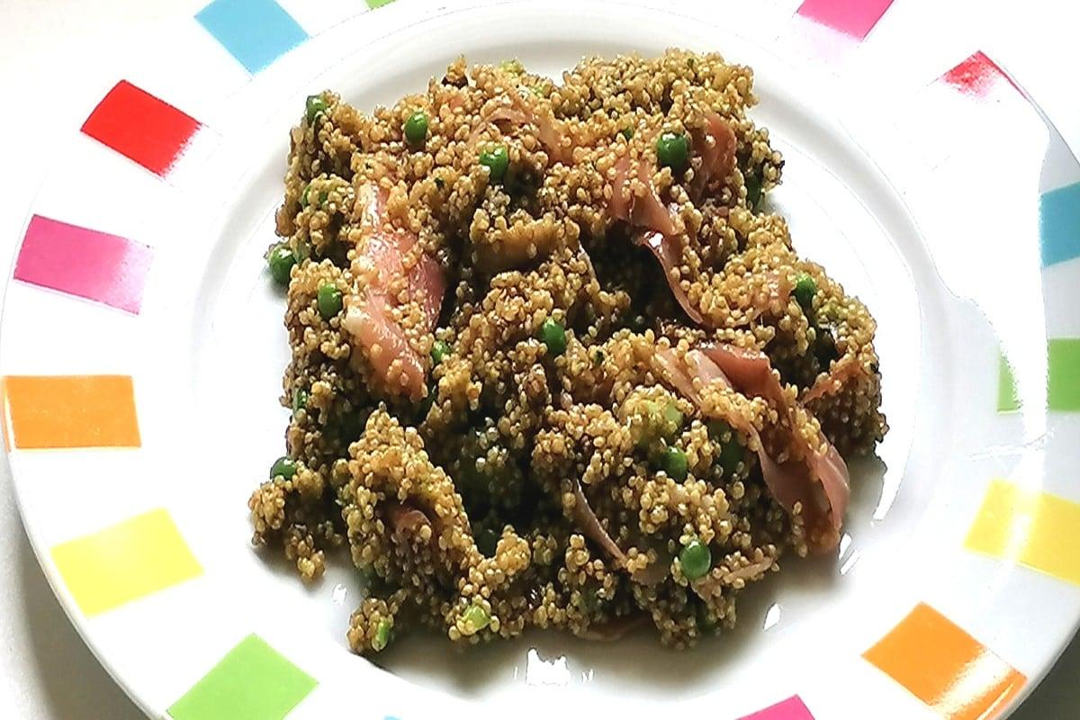 assiette salade de quinoa