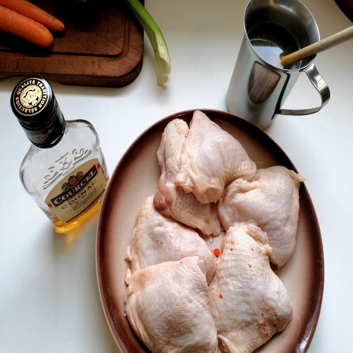 morceaux poulet