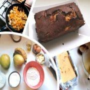 cake mangue banane mozaique